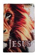 Bíblia Sagrada Letra HiperGigante - Capa Leão Jesus