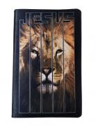 Bíblia Sagrada Letra HiperGigante - Capa Leão Jesus - Preta