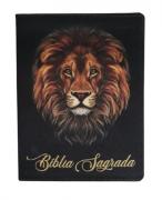 Bíblia Sagrada Media Fina (Capa Leão)