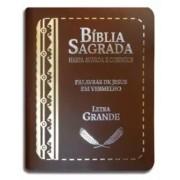 Bíblia Sagrada Modelo Tijolinho - Letra Grande