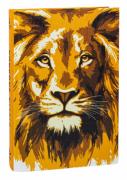 Bíblia Sagrada NAA Letra Grande - Leão Dourado