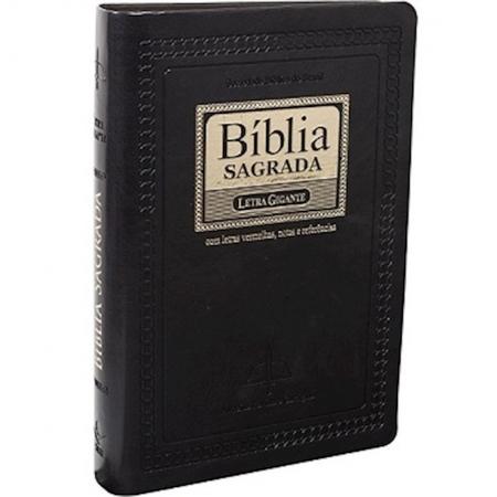 Bíblia Sagrada Revista e Corrigida com Letra Gigante - Índice