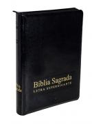 Bíblia Sagrada Super Gigante NAA Com Índice e Zíper - Preta