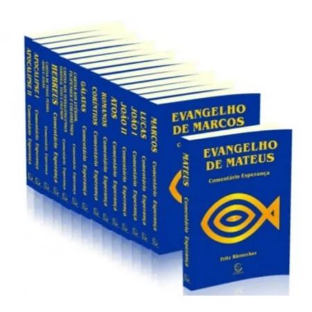 Coleção Comentário Esperança Novo Testamento - Brochura