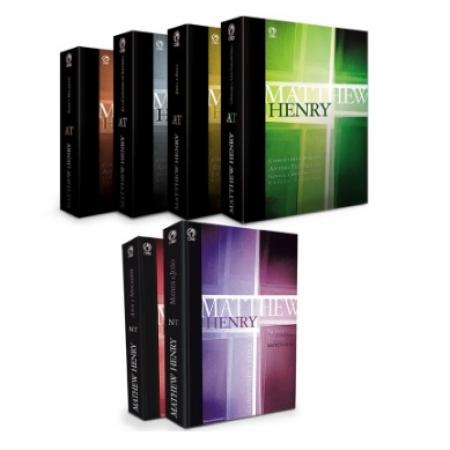 Comentário Bíblico Matthew Henry Obra Completa - 06 Volumes