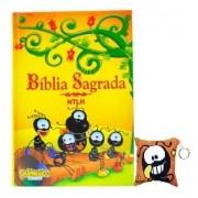 Kit: Bíblia Smilinguido com Chaveiro