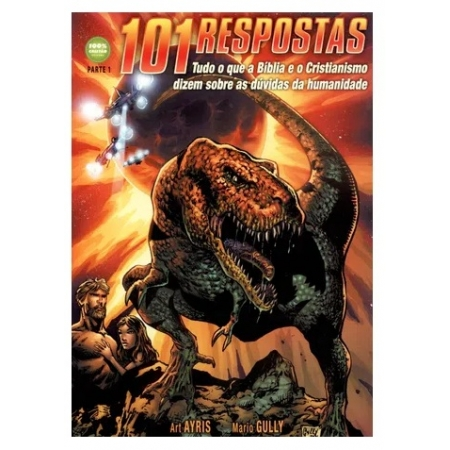 Livro 101 Respostas sobre as Dúvidas da Humanidade em Quadrinhos