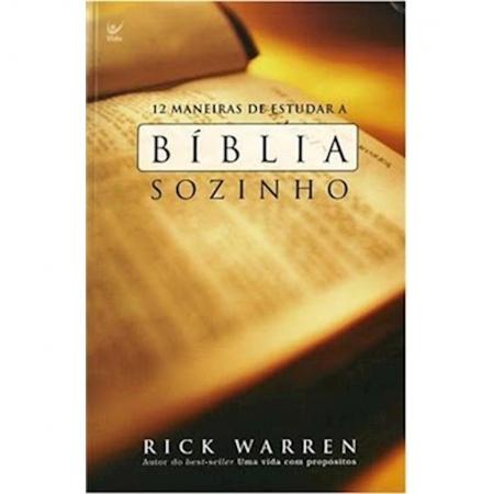 Livro 12 Maneiras de Estudar a Bíblia Sozinho
