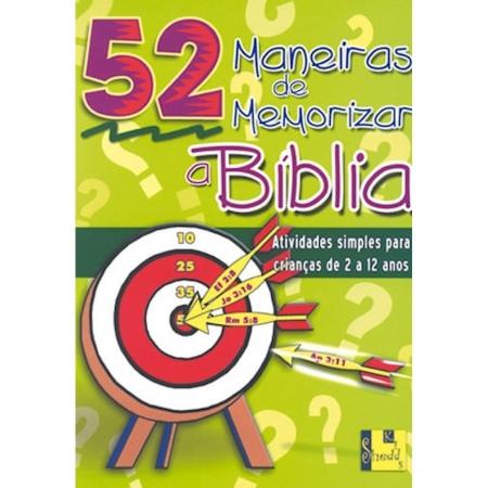Livro 52 Maneiras de Memorizar a Bíblia