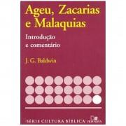 Livro Ageu, Zacarias e Malaquias - Introdução e Comentário Antigo Testamento