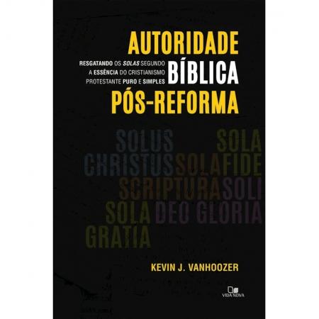 Livro Autoridade Bíblica Pós-reforma