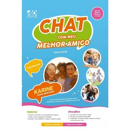Livro Chat Com Meu Melhor Amigo