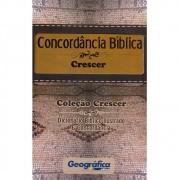 Livro Coleção Crescer - Dicionário Bíblico Ilustrado e Concordância