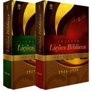 Livro Coleção Lições Bíblicas (1941 - 1950) - Volumes 02 e 03 - Produto Reembalado