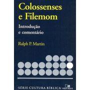 Livro Colossenses e Filemon - Introdução e Comentário Novo Testamento