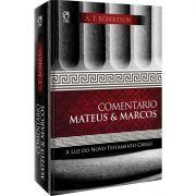 Livro Comentário Mateus e Marcos