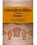 Livro Concordância Bíblica Crescer