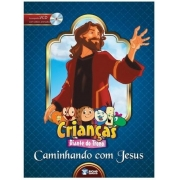 Livro Crianças Diante do Trono ? Caminhando com Jesus