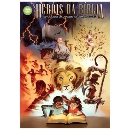 Livro Devocionais em Quadrinhos com Atividades - Heróis da Bíblia