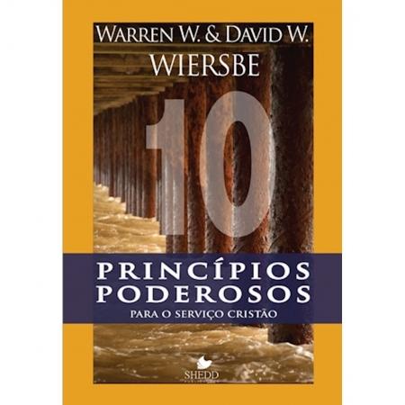 Livro Dez Princípios Poderosos Para o Serviço Cristão