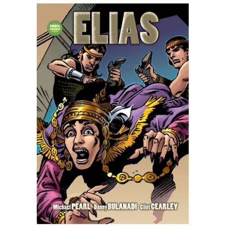 Livro em Quadrinhos Elias