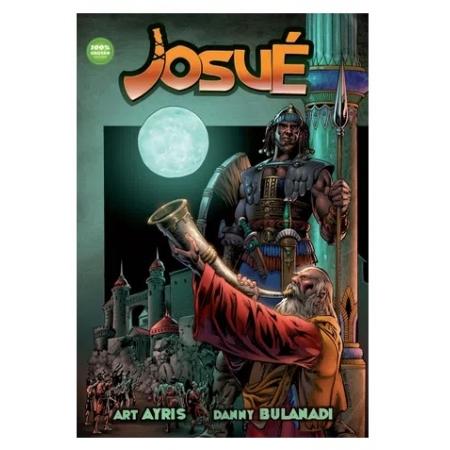 Livro em Quadrinhos Josué
