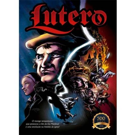 Livro em Quadrinhos Lutero