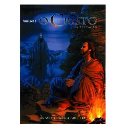 Livro em Quadrinhos O Cristo - A Tentação - Vol. 3