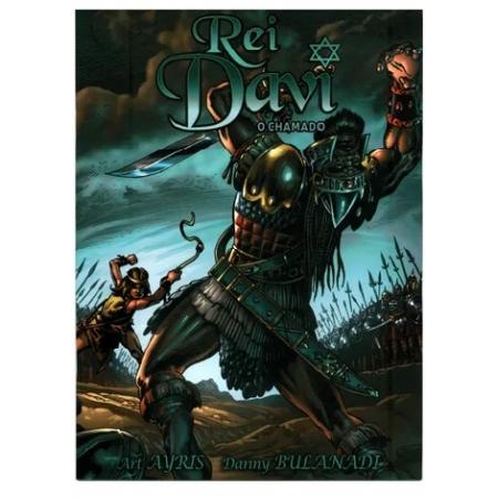 Livro em Quadrinhos Rei Davi