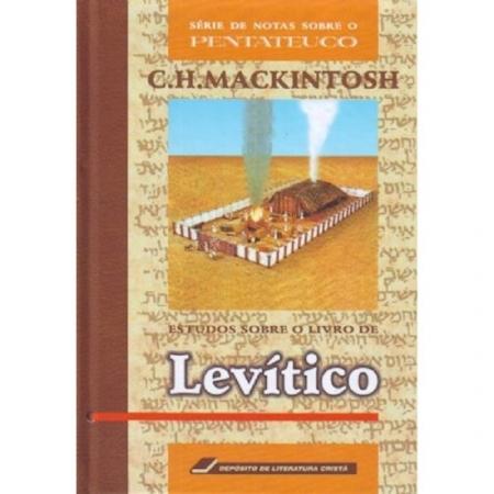 Livro Estudos Sobre O Livro De Levítico