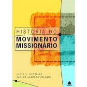 Livro História do Movimento Missionário - Produto Reembalado