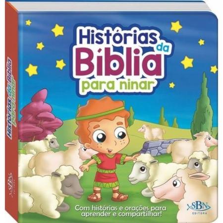 Livro Histórias da Bíblia Para Ninar