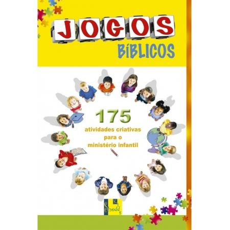 Livro Jogos Bíblicos 175 Atividades Criativas Para o Ministério Infantil