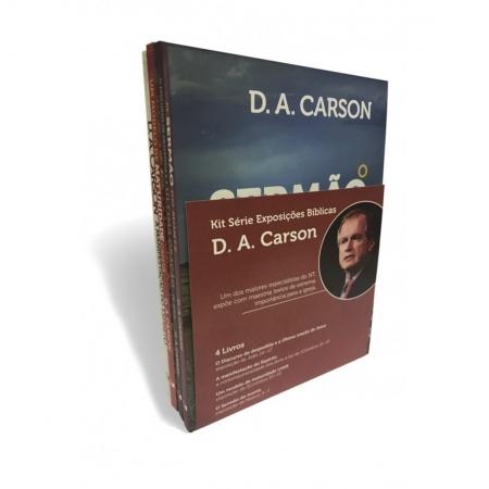 Livro Kit Série Exposições Bíblicas D. A. Carson