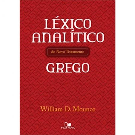 Livro Léxico Analítico do Novo Testamento Grego
