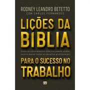 Livro Lições da Bíblia para o Sucesso no Trabalho