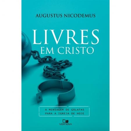 Livro Livres Em Cristo