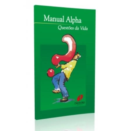 Livro Manual Alpha - Questões da Vida