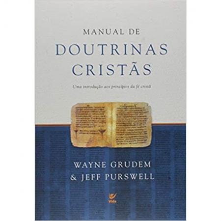 Livro Manual de Doutrinas Cristãs