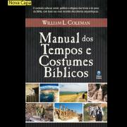 Livro Manual dos Tempos e Costumes Bíblicos