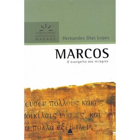 Livro Marcos | Comentários Expositivos Hagnos