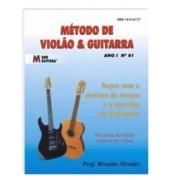 Livro Método de Guitarra Caiaffa vol.1