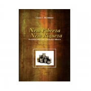 Livro Nem Pobreza Nem Riqueza- Produto Reembalado