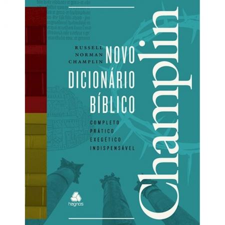 Livro Novo Dicionário Bíblico Champlin