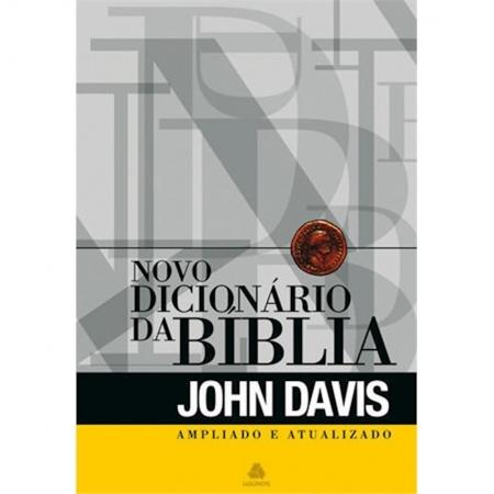 Livro Novo Dicionário da Bíblia Ampliado Atualizado