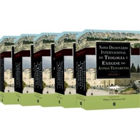 Livro Novo Dicionário Internacional de Teologia e Exegese do Antigo Testamento - 5 VOLUMES