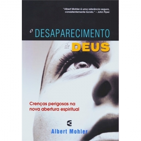 Livro O Desaparecimento de Deus