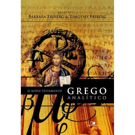 Livro O Novo Testamento Grego Analítico