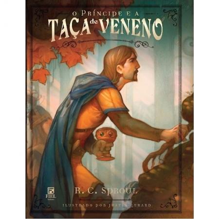 Livro O Príncipe e a Taça de Veneno