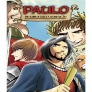 Livro Paulo em Mangá - De Tarso Para a Redenção